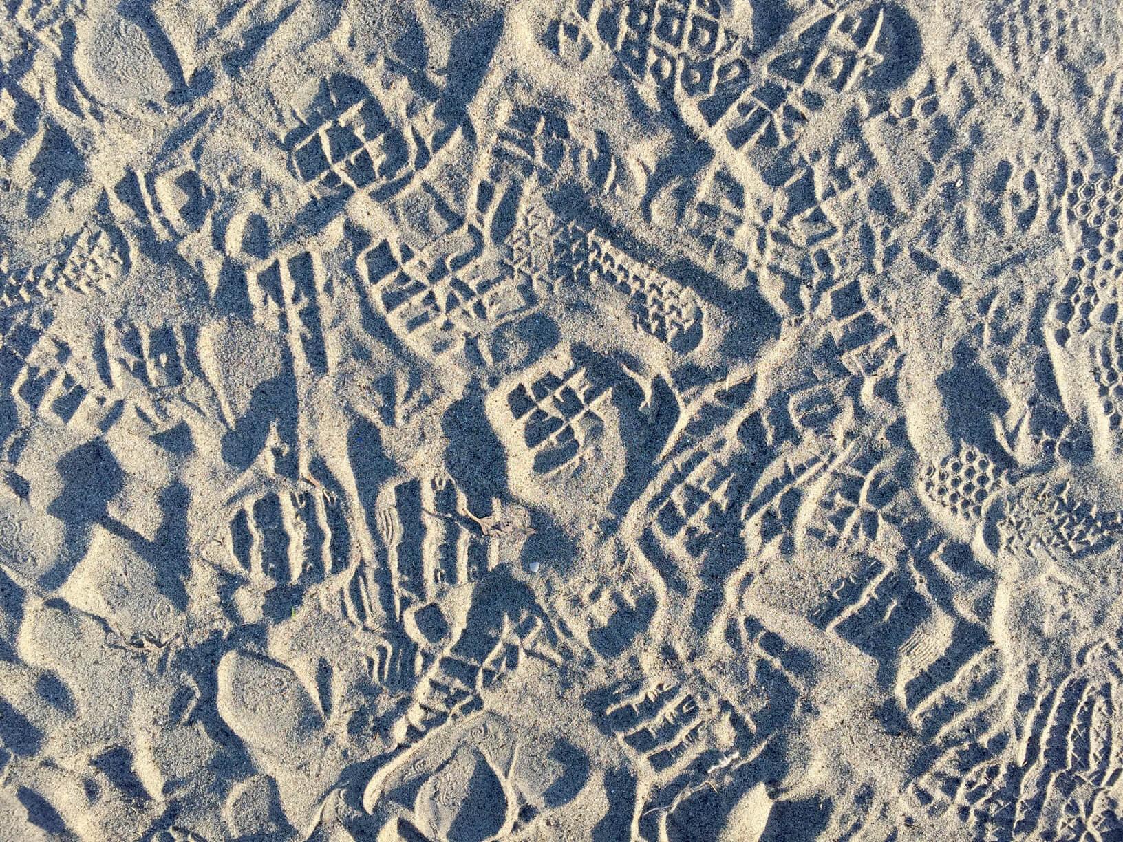 Foot Prints San Francisco